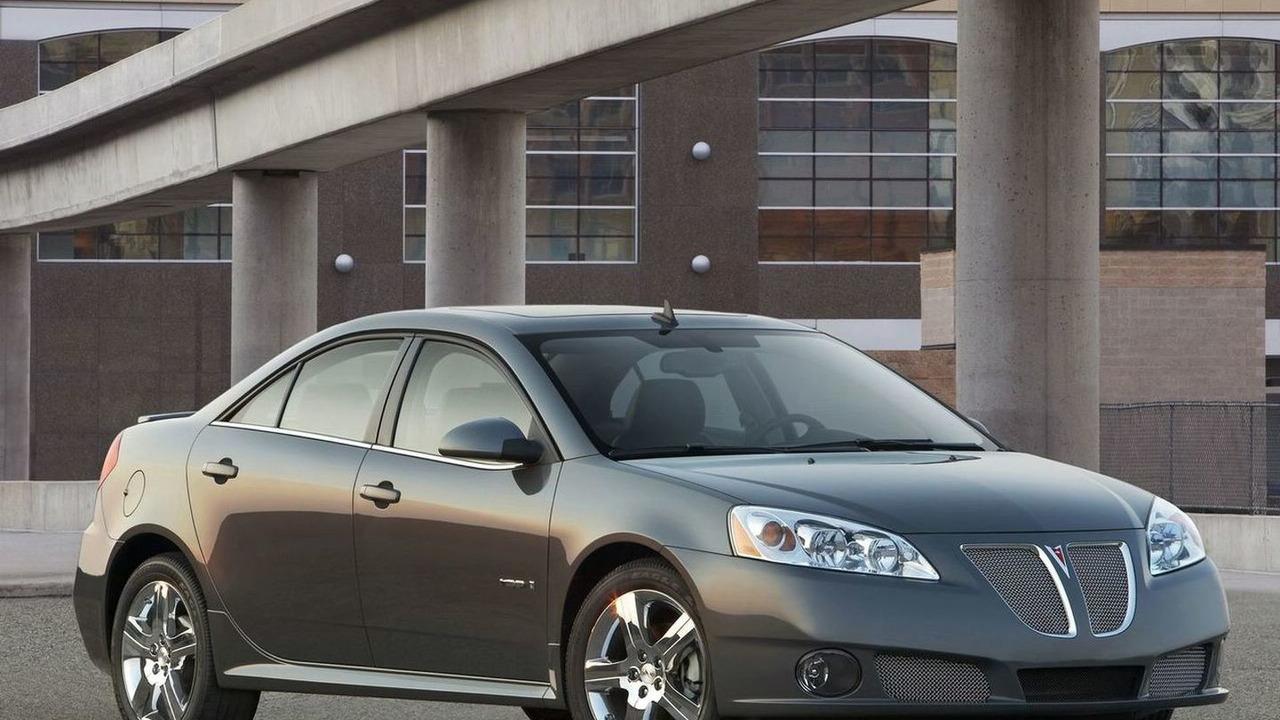 2009 Pontiac G6 GXP sedan