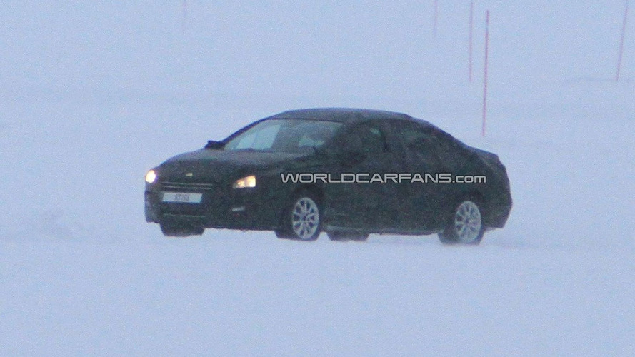 2012 Peugeot 508 First Winter Test Spy Photos - Successor to the 407 and 607
