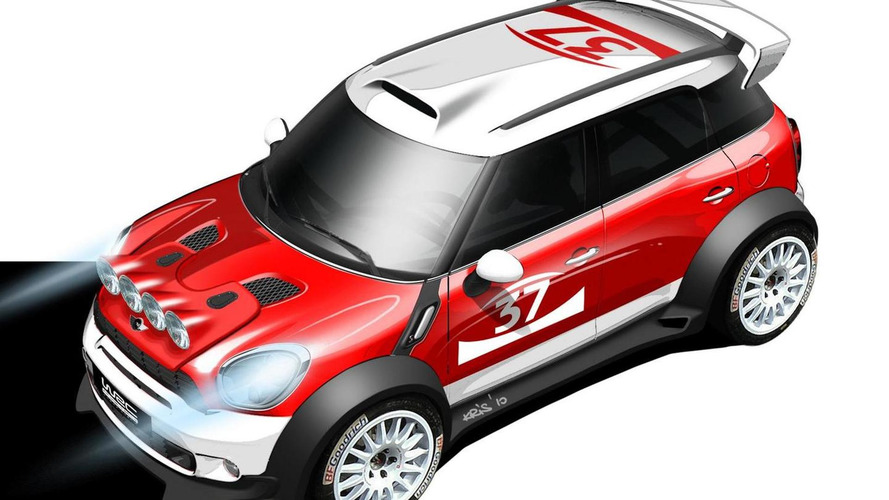 MINI Countryman WRC in action [video]