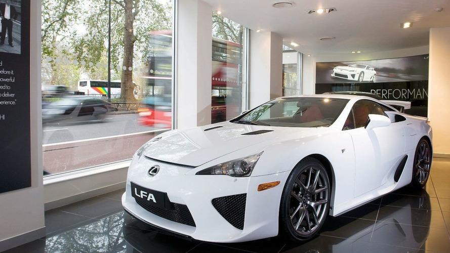 Lexus LF-A Receives High Demand in Europe