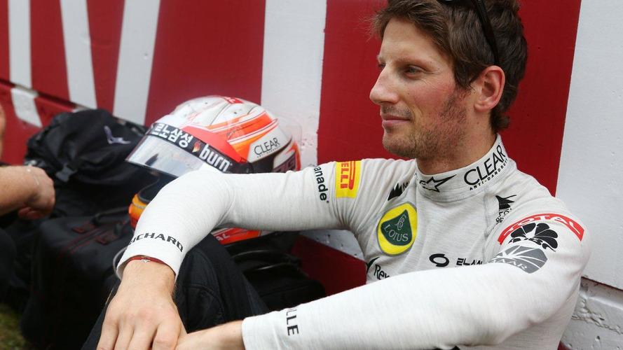 Grosjean not sure if Lotus budget in place