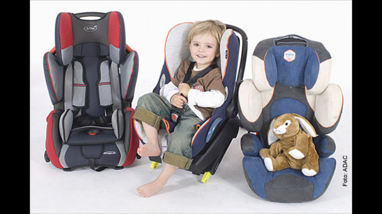 Rund um Kindersitze