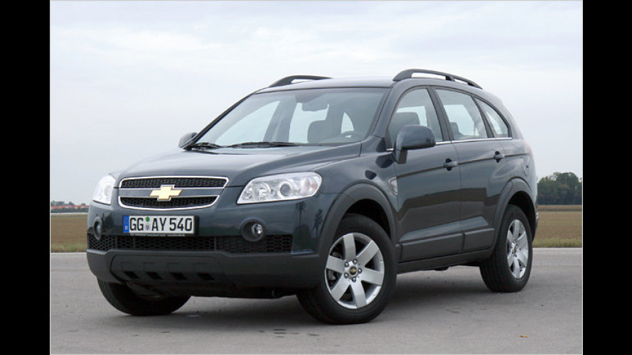 Voll Gas unterwegs: Test Chevrolet Captiva 2.4 EcoLogic