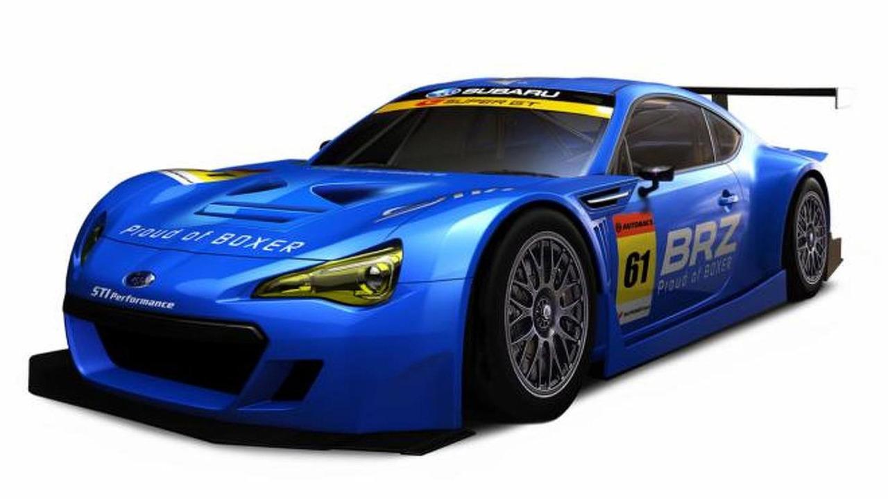 Super GT Subaru BRZ GT300