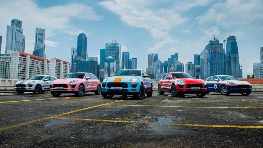 Porsche viste al Macan con los colores históricos de la marca