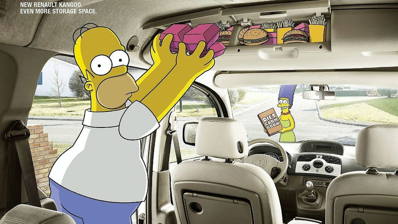 Kangoo Packs All the Simpsons' Bits