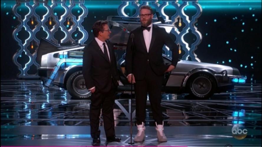 DeLorean DMC-12, Ritorno al Futuro nella notte degli Oscar [VIDEO]