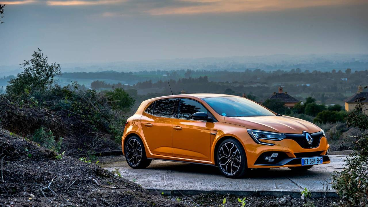 2018 Renault Megane Rs First Drive Motor1 Com Photos