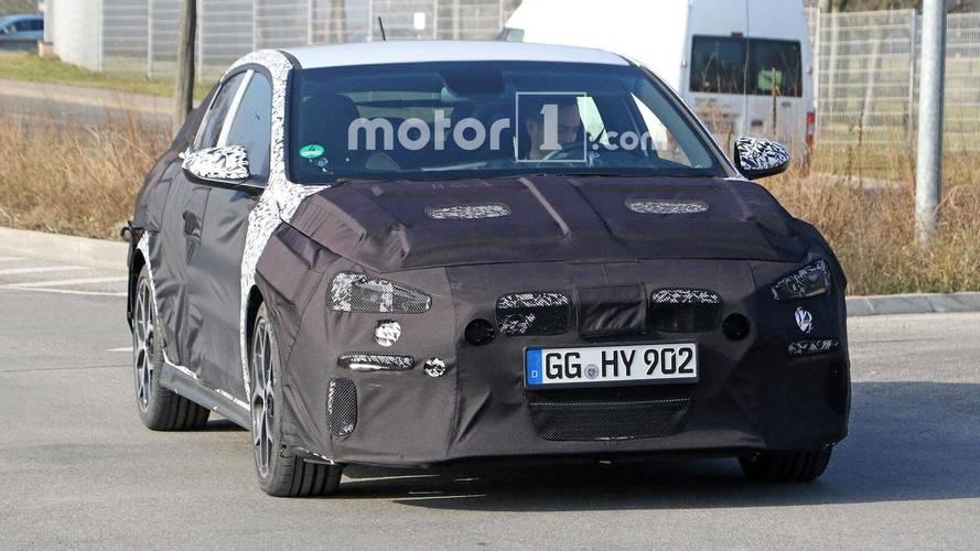 Hyundai i30 N Fastback Photos espion