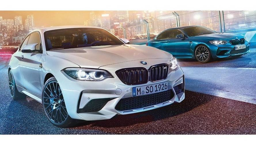 BMW M2 Competition leaked images
