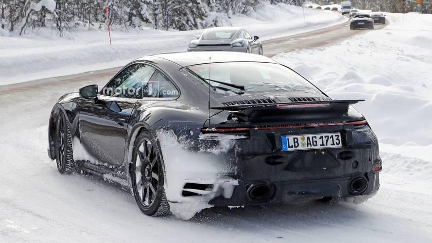 2020 Porsche 911 GT3 Spy Photo