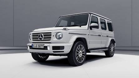 AMG Line változatban is megmutatta magát az új Mercedes G-osztály