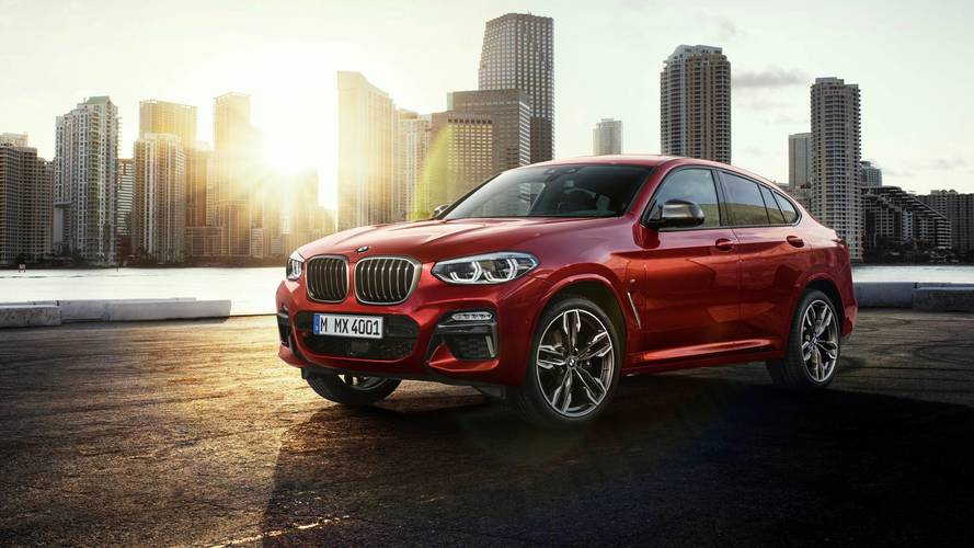 2018 BMW X4 revealed before Geneva show