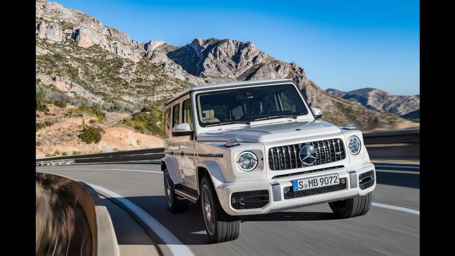 Nuova Mercedes-AMG G 63, il fuoristrada va veloce