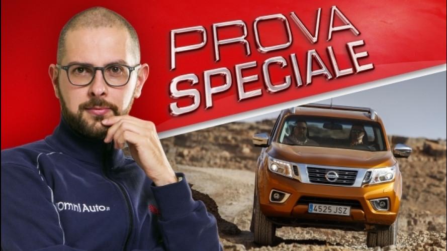 Nissan Navara, la nostra prova nel deserto [VIDEO]