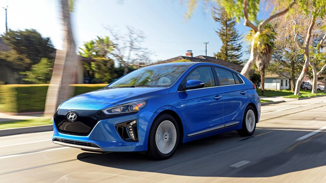 7. Elektrikli Hyundai Ioniq