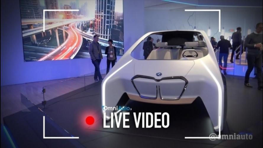 BMW i Inside Future, ecco l'abitacolo del futuro [VIDEO]