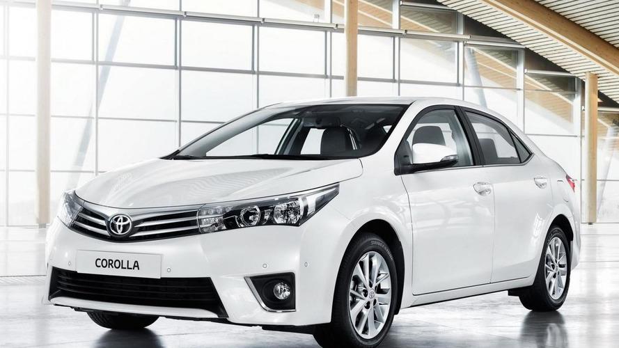 2014 Toyota Corolla (Euro-spec) debuts on video