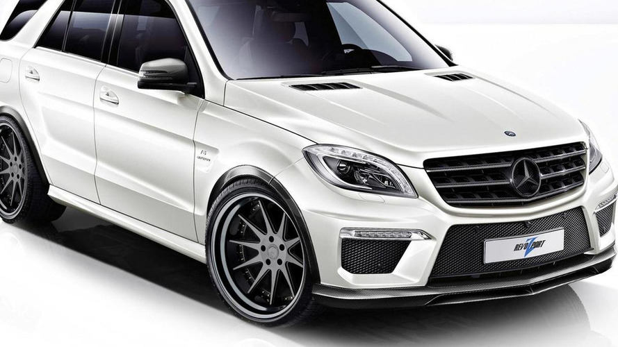 2012 Mercedes-Benz ML63 AMG by RevoZport with 600 HP