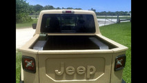 2015 Jeep Renegade pickup truck conversion