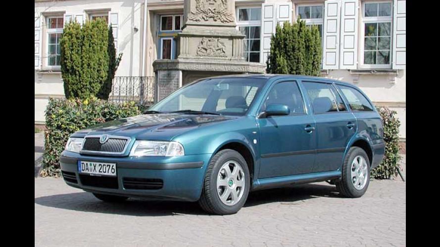Skoda: Alter Octavia erhält neuen Euro-4-Diesel mit 100 PS