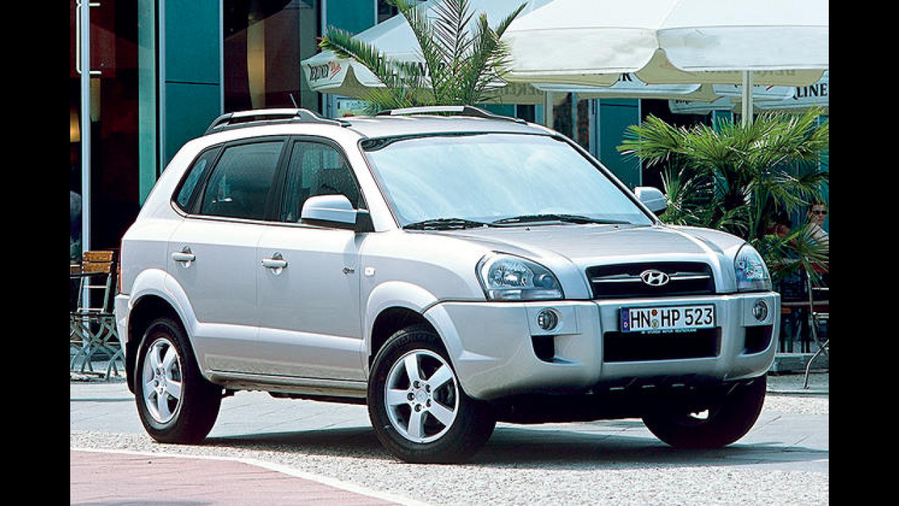 Hyundai Tucson 2.0 CRDi VGT GLS 2WD RPF