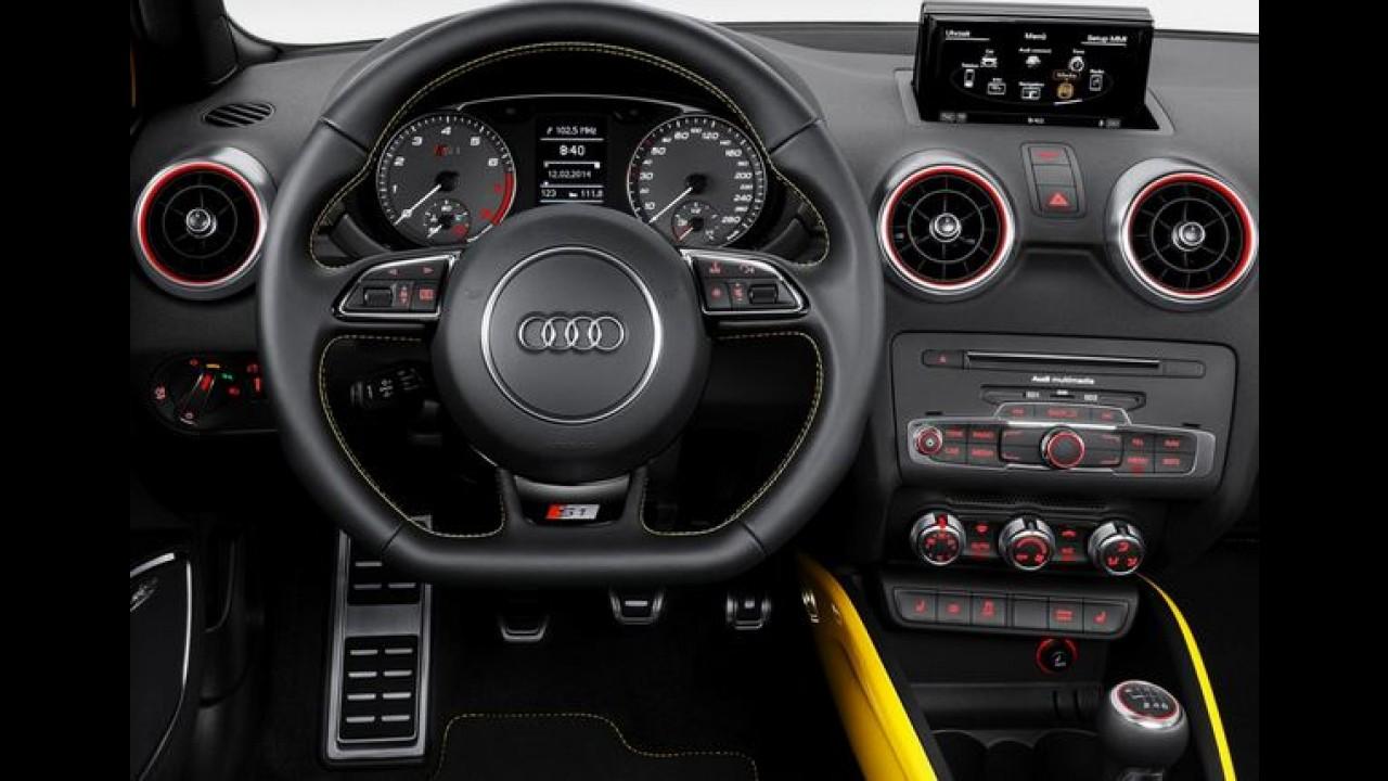 Audi S1 Quattro : versão mega nervosa de 231 cv é revelada - veja galeria