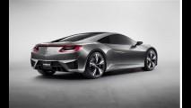 Salão de Detroit: Acura NSX concept é revelado