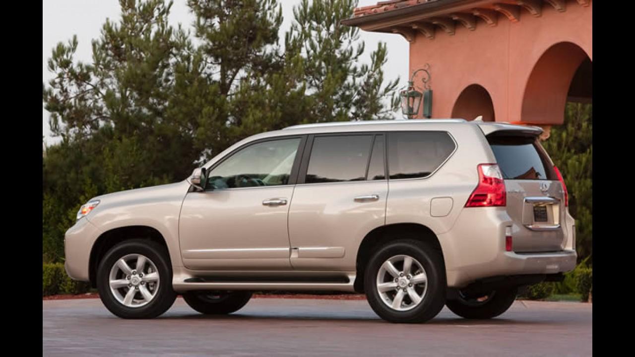 Risco de capotamento: Toyota suspende vendas do utilitário Lexus GX 460 nos EUA