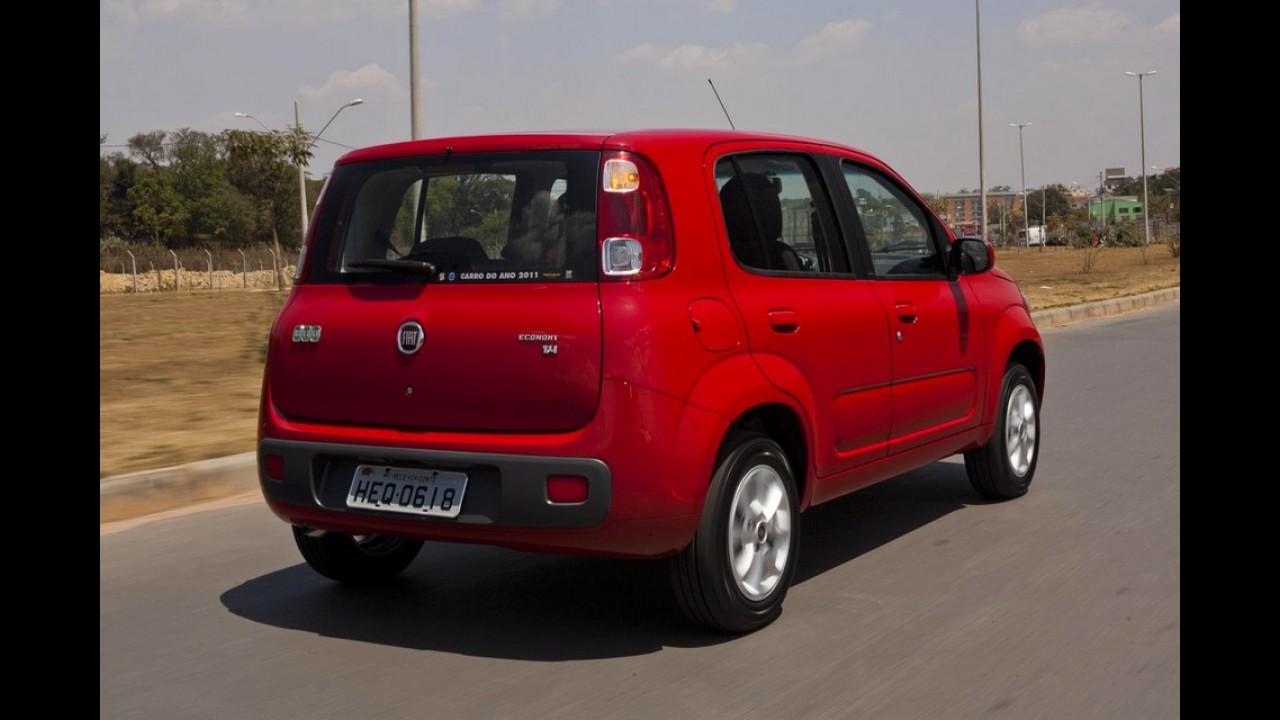 Veja a lista dos carros mais vendidos no Brasil em janeiro de 2012