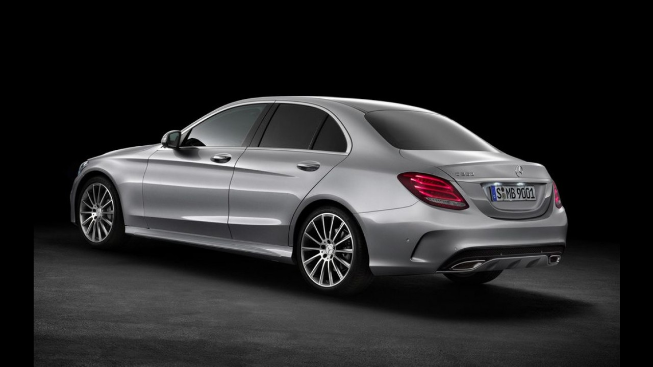 Novo Mercedes Classe C 2015 é lançado na Alemanha - maior, elegante e cheio de tecnologia