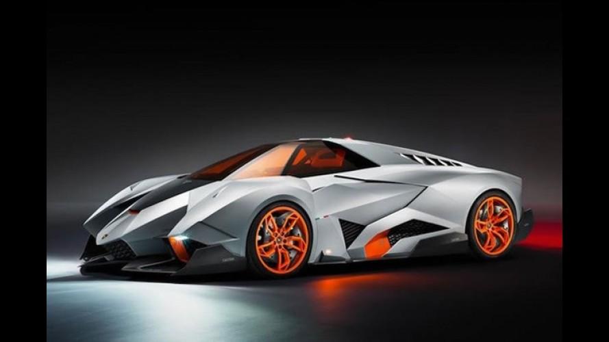 Único: Lamborghini Egoista é surpresa de aniversário