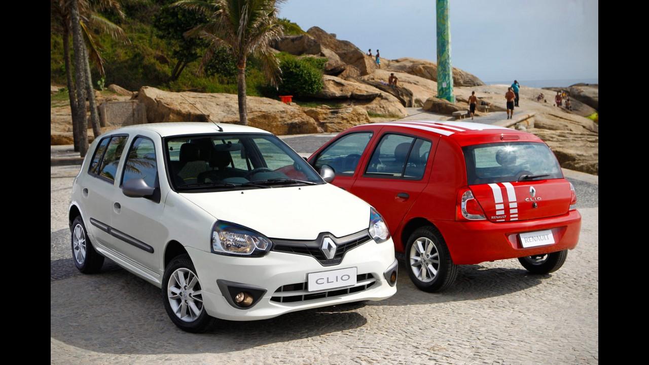 Reestilizado para o Mercosul, veterano Clio também será vendido na África