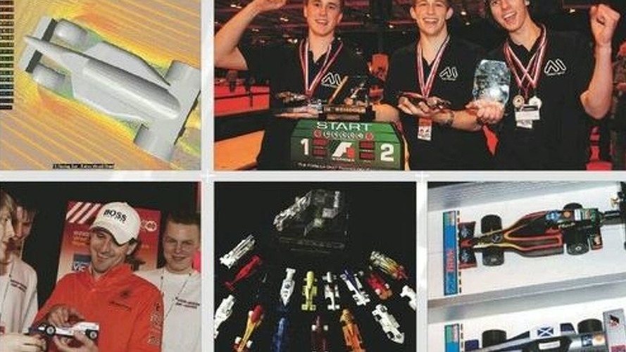England Wins F1 in Schools Final