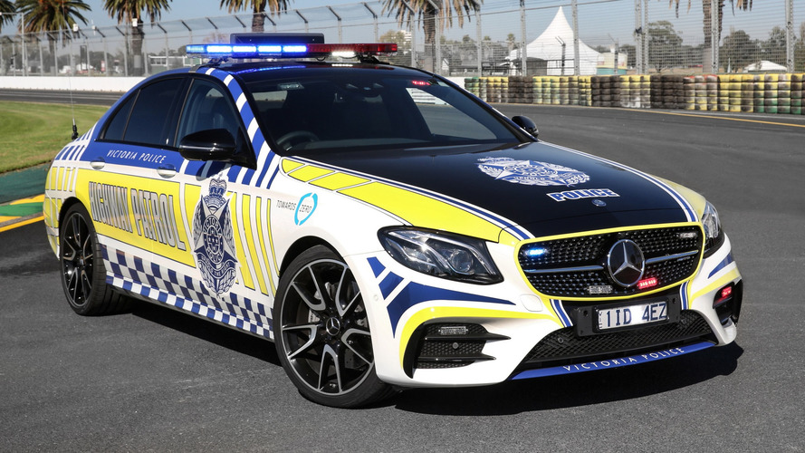 Mercedes-AMG E43 Sedan Police Car To Chase Down Aussie Speeders