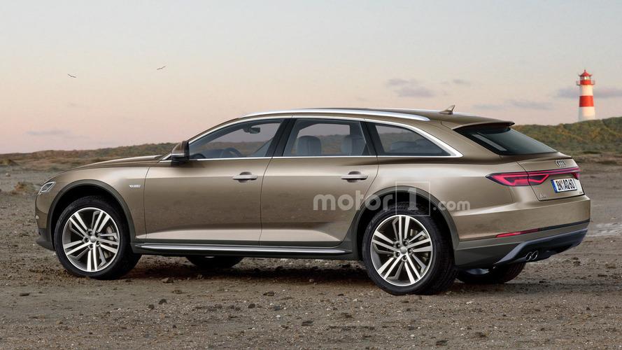Audi A6 Allroad'ın tasarım yorumu kirlenmeye hazır görünüyor