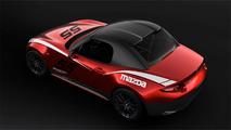 Sabit tavanlı Mazda MX-5 Cup aracı