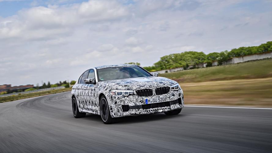 2018 BMW M5 Nürburgring'de 7 dakikalığına görüntülendi