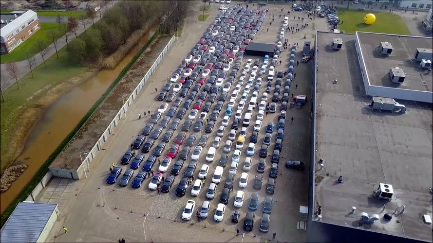 Récord de concentración de vehículos eléctricos