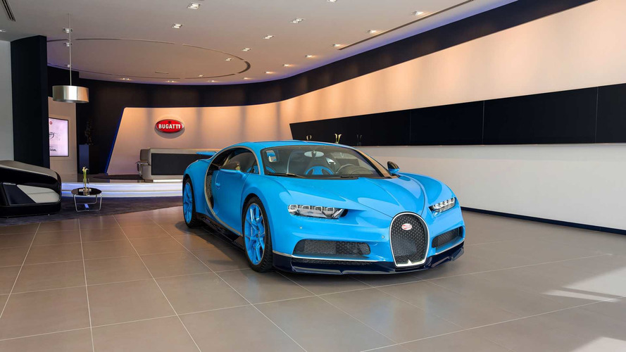 Bugatti Opens Largest Showroom For A Single Car