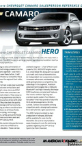 2010 Chevy Camaro Brochure