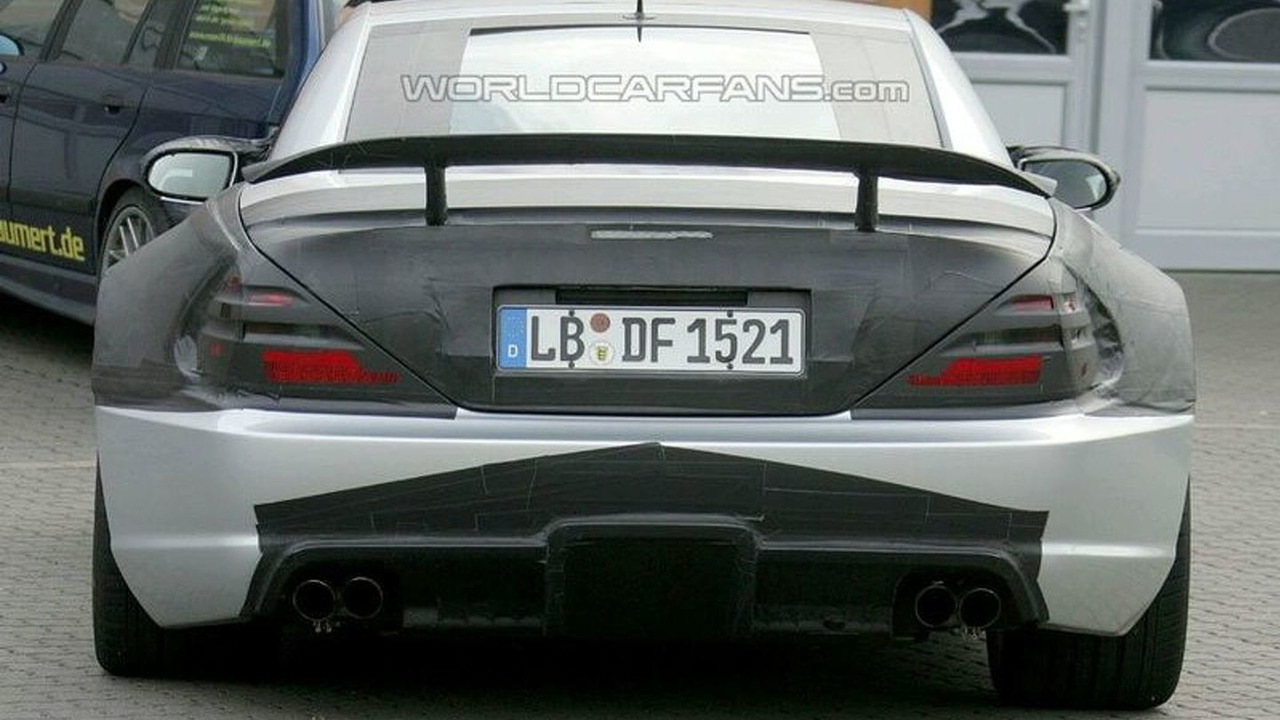 Mercedes SL65 AMG Black Series Spy Photo