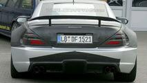 Mercedes SL65 AMG Black Series Spy Photo