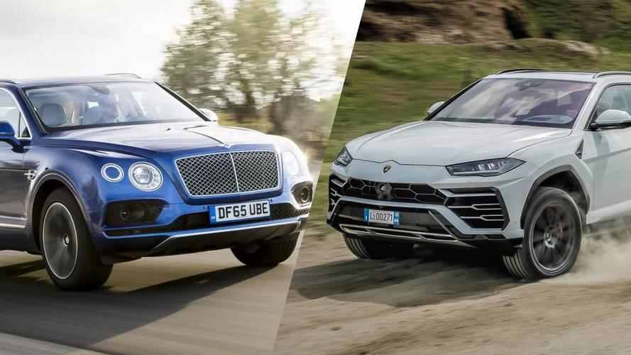Bentley Bentayga 2018 vs. Lamborghini Urus 2018: la batalla de las cifras