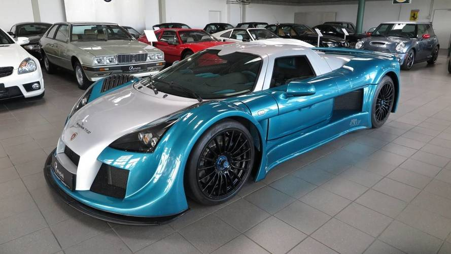 Nurburgring Record-Breaking Gumpert Apollo Can Be Yours For $397K