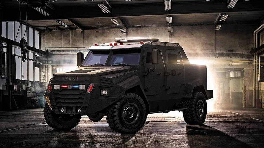 Inkas Sentry MPV Is Not Your Typical Multi-Purpose Vehicle