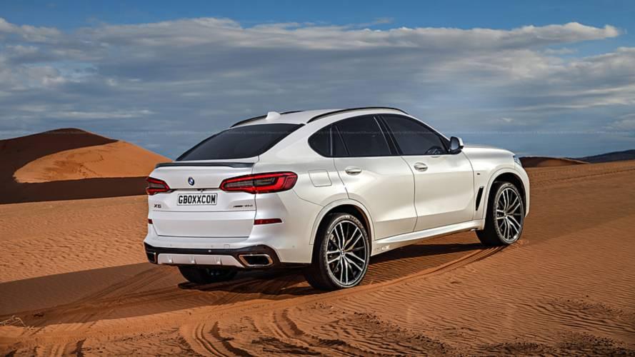 BMW X6 2019: imaginamos su aspecto con este atractivo render