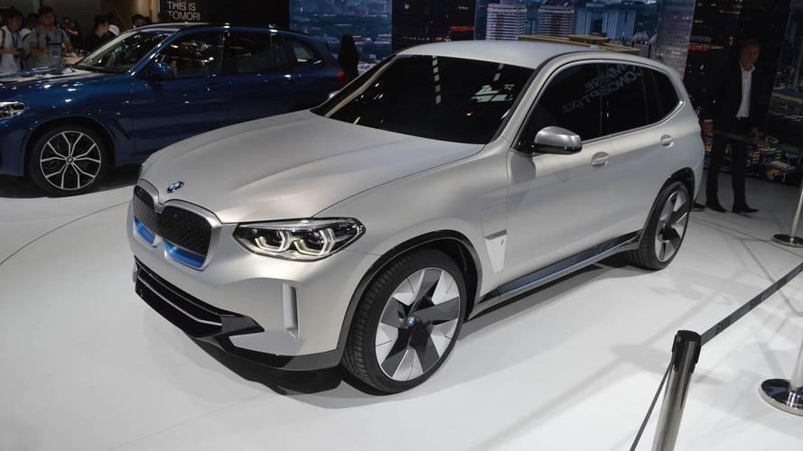 BMW Concept iX3 Plugs Into Beijing With 249+ Miles Of Range