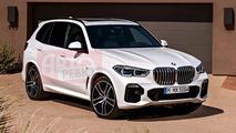 2019 BMW X5 leaked photos