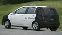 SPY PHOTOS: Chevrolet Kalos Facelift